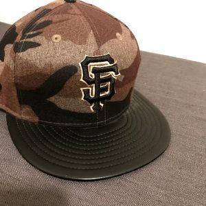 SF Giants Fitted Cap